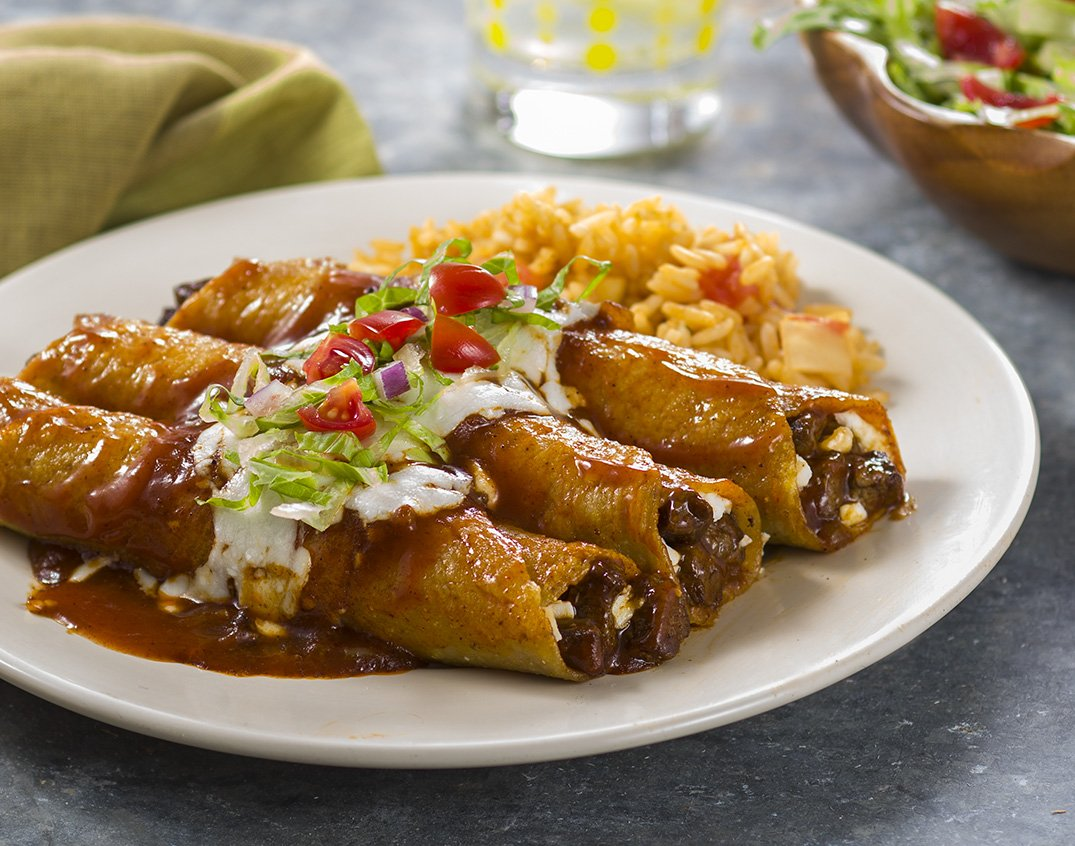 Red Carne Enchiladas