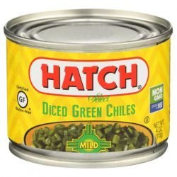 Hatch Green Chiles Diced Mild 4oz Can