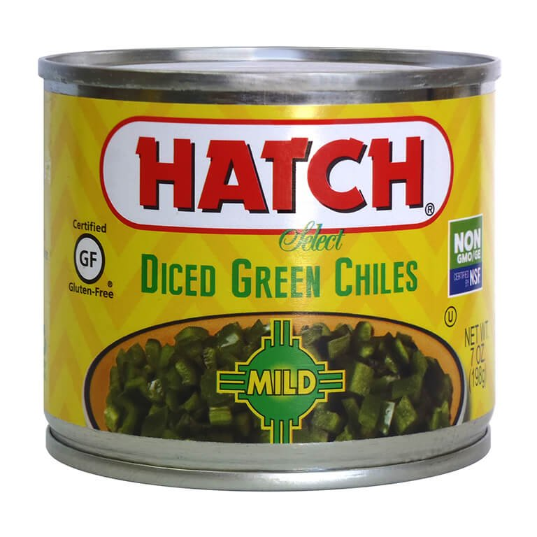 Hatch Select Mild Diced Green Chiles 12 7oz Www