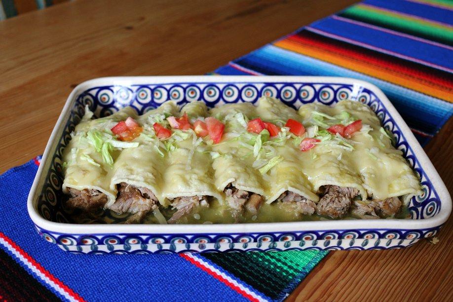 Hatch Pork Enchilada Recipe