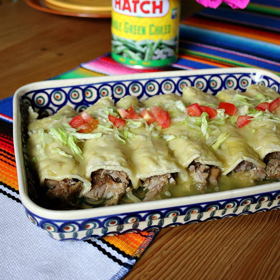Green Chile Pulled Pork Enchiladas Www Hatchchileco Com