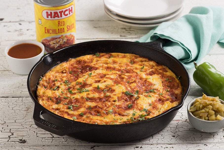 Monterey Jack and Red Pepper Frittatas
