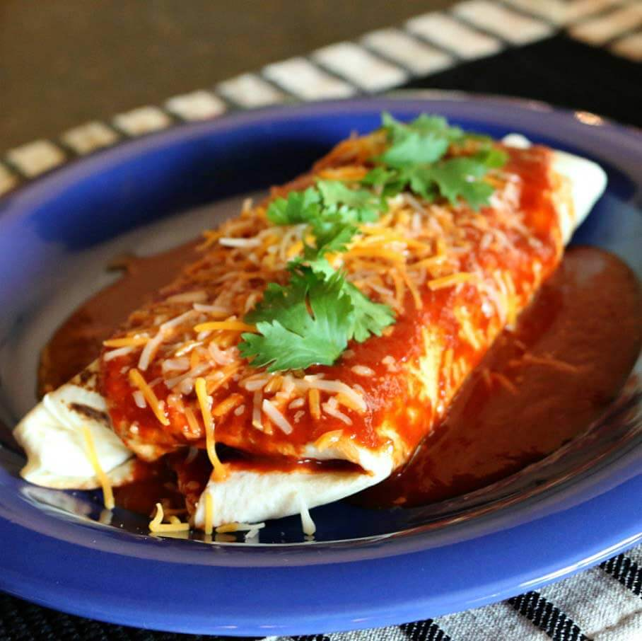 Hatch Chile Co Smothered Beef Burrito